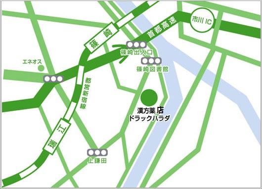 お車でお越しの場合はご連絡いただければ駐車場をご用意させて頂きます。地図画像